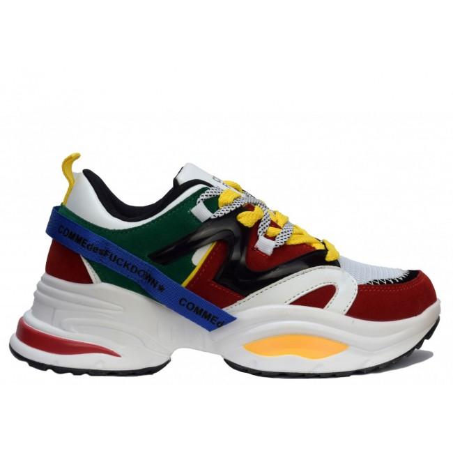 Γυναικεία  ΠΑΠΟΥΤΣΙΑ Sneakers Comme des fuckdown Multicolour