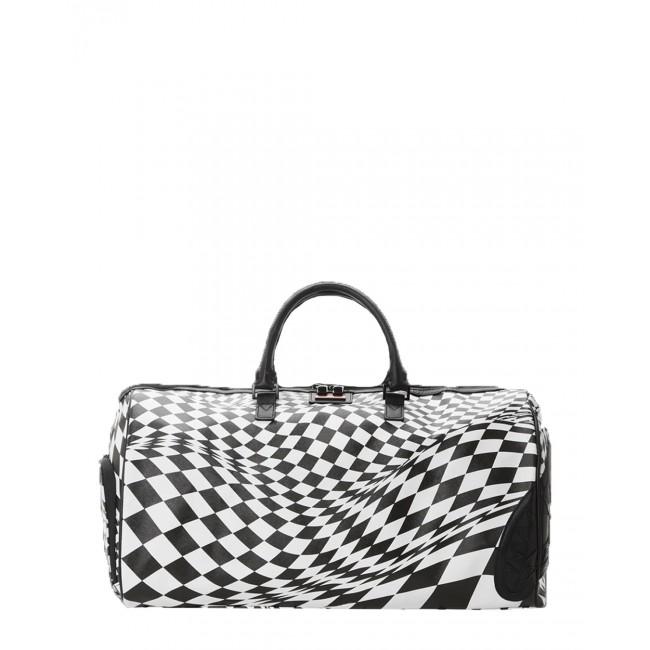 Τσάντες-Σακίδια Sprayground Black-White (D3652) 55cm