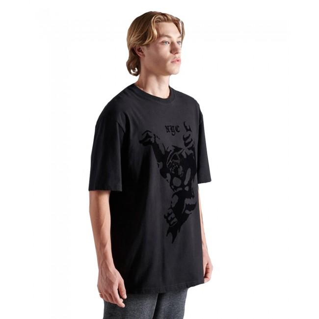 T-shirt SuperDry Black