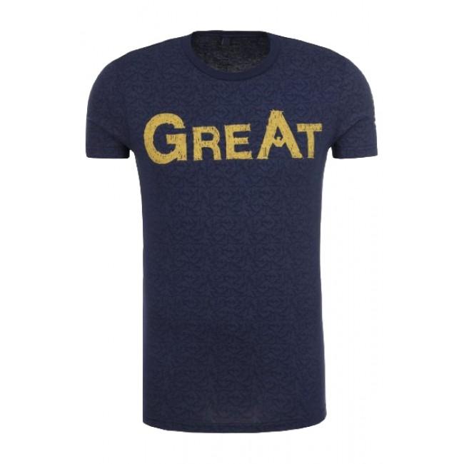 T-shirt Armani Fantasia Blu