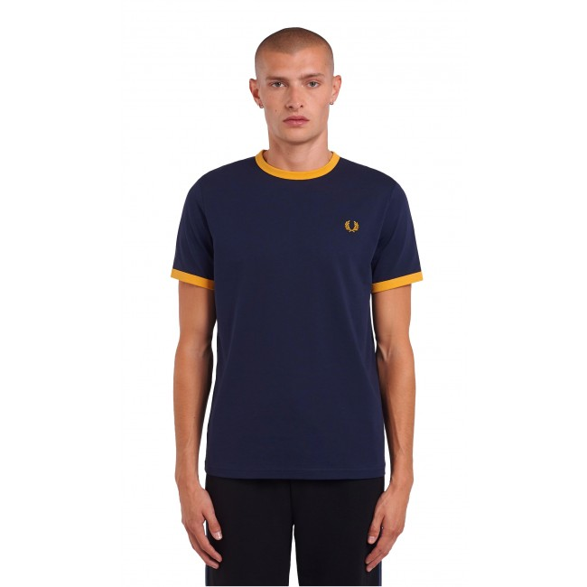 T-shirt Fred Perry Carbon Blue