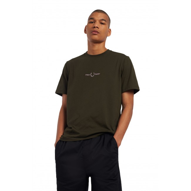 T-shirt Fred Perry Hunting Green
