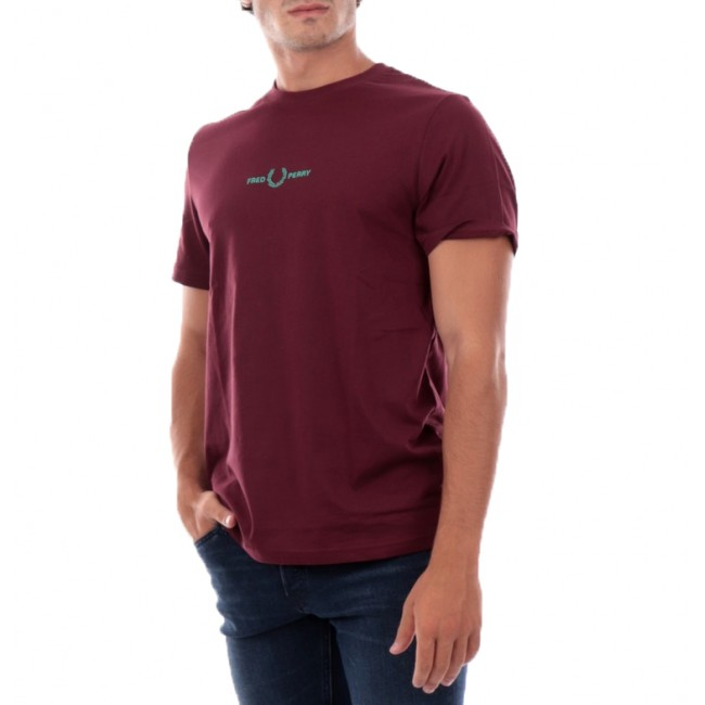 T-shirt Fred Perry Aubergine