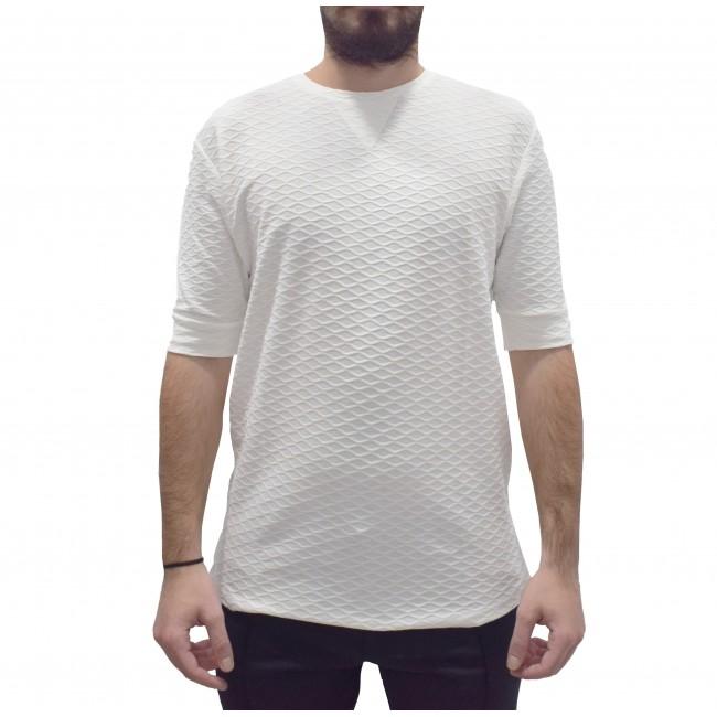T-shirt Vittorio Artist White
