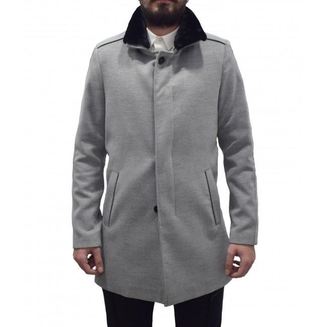 Παλτό-Καπαρντίνες Vittorio Artist Grey