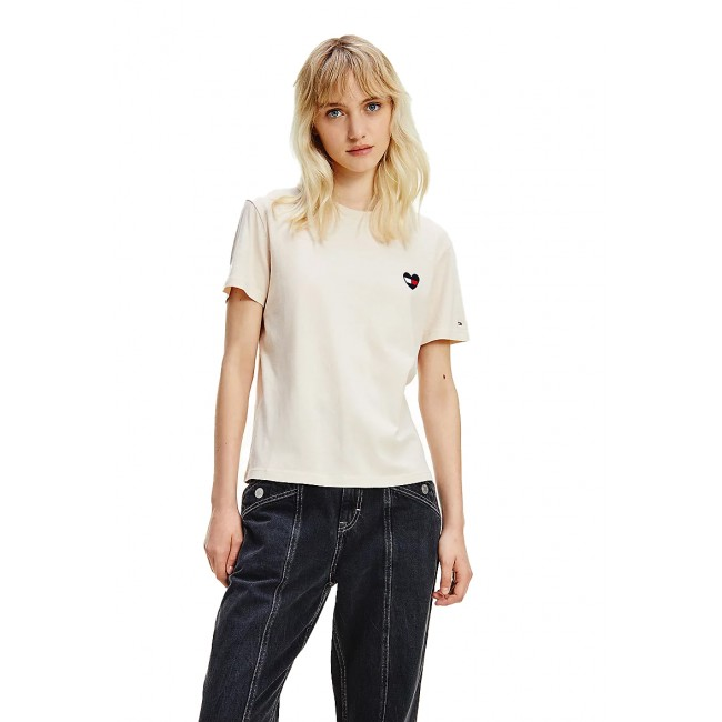 T-shirt Tommy Hilfiger Smooth Stone