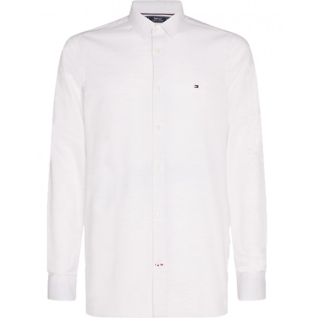 Πουκάμισα Tommy Hilfiger White Heather