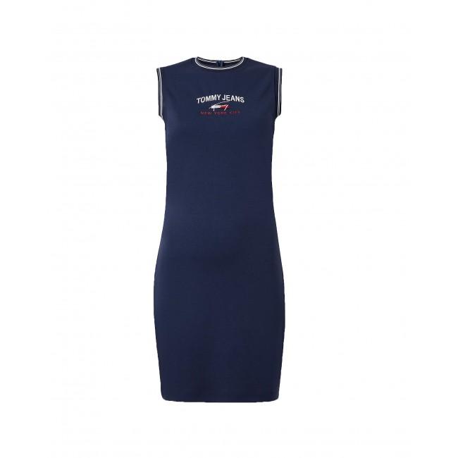 Signature Sleeveless T-Shirt Dress