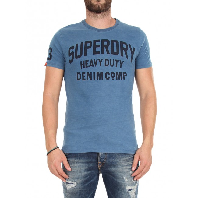 T-shirt SuperDry Acid Indigo
