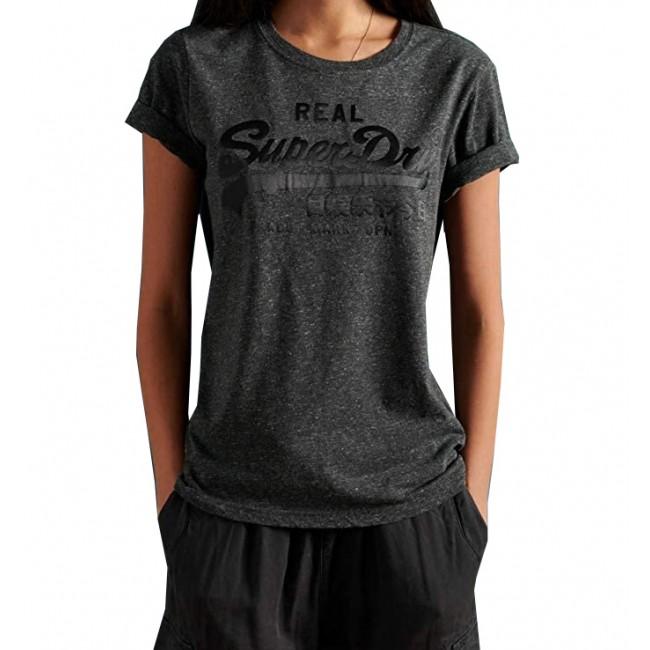T-shirt SuperDry Black Snowy