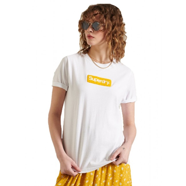 T-shirt SuperDry Brilliant White