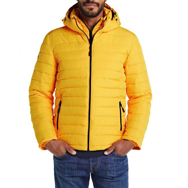 Μπουφάν-Παρκά SuperDry Warm Yellow
