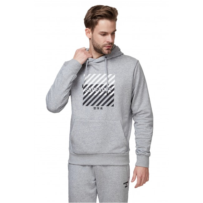 Φούτερ SuperDry Grey Marl