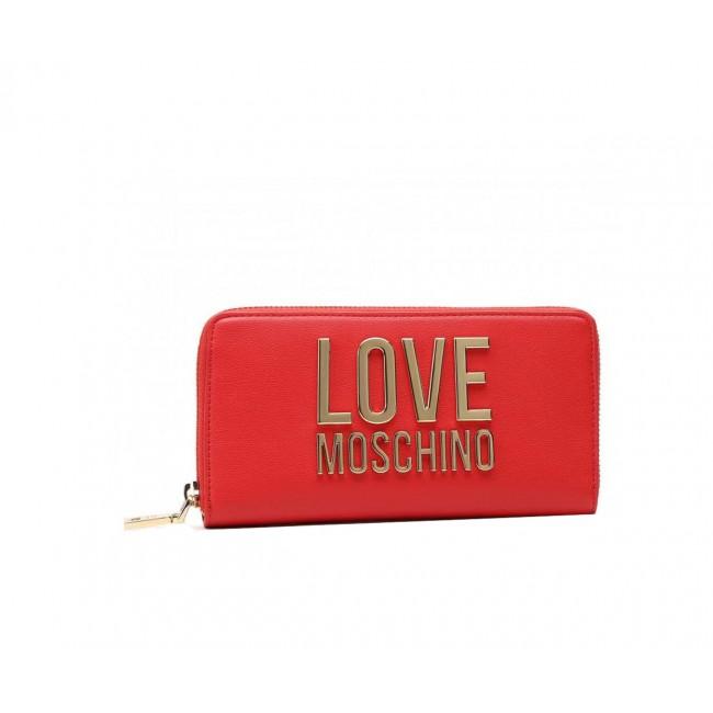 Πορτοφόλια Love Moschino Rosso