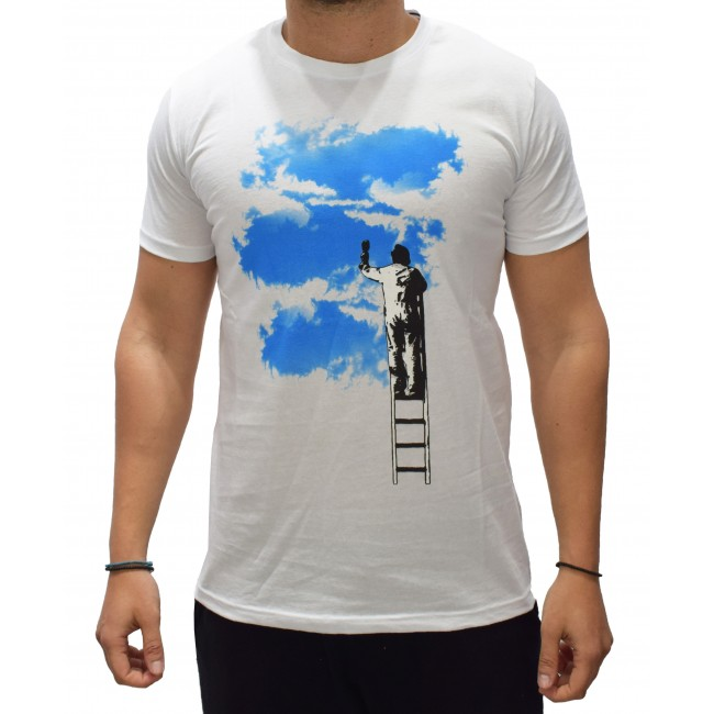 T-shirt BESILENT White