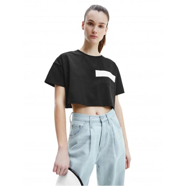 T-shirt Calvin Klein Ck Black-Bright White