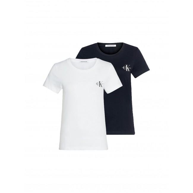 T-shirt Calvin Klein Black-White