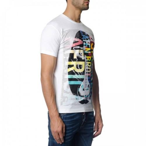 ... ΑΝΔΡΙΚΑ ΡΟΥΧΑ T-shirt Dsquared2 100 ΑΣΠΡΟ 100%ΒΑΜΒΑΚΙ ΑΝΔΡΙΚΑ ... 8196179ceaf