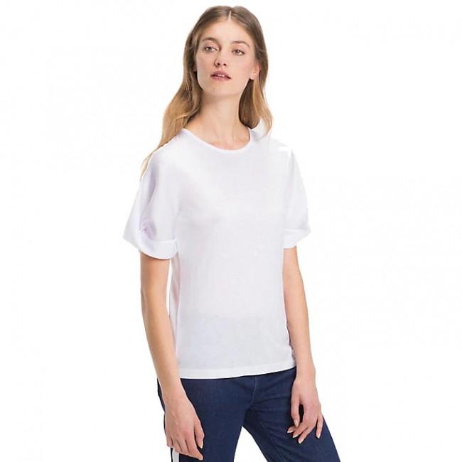 Γυναικεία  ΡΟΥΧΑ T-shirt Tommy Hilfiger CLASSIC WHITE