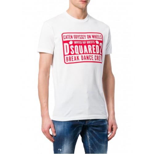 -30% ΑΝΔΡΙΚΑ ΡΟΥΧΑ T-shirt Dsquared2 100 ΑΣΠΡΟ 100%ΒΑΜΒΑΚΙ ΑΝΔΡΙΚΑ 8fd2f40127d