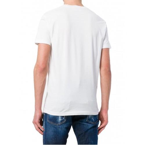 ... ΑΝΔΡΙΚΑ ΡΟΥΧΑ T-shirt Dsquared2 100 ΑΣΠΡΟ 100%ΒΑΜΒΑΚΙ ΑΝΔΡΙΚΑ f39f795a8cd
