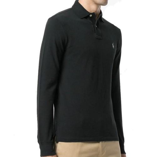 ΑΝΔΡΙΚΑ ΡΟΥΧΑ Πόλο Μπλούζες Polo black b3c15a0086d