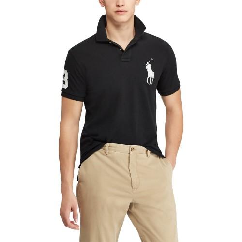 ΑΝΔΡΙΚΑ ΡΟΥΧΑ Πόλο Μπλούζες Polo BLACK   ΜΑΥΡΟ 1a574e77588