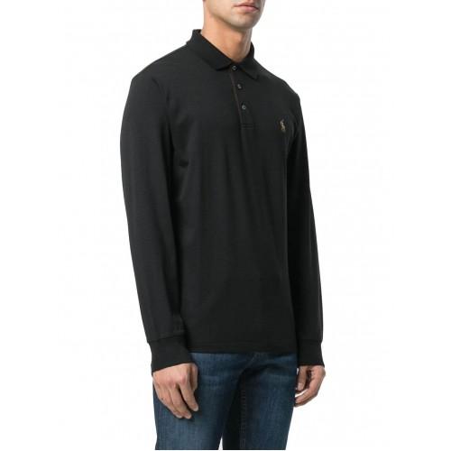 ΑΝΔΡΙΚΑ ΡΟΥΧΑ Πόλο Μπλούζες     Polo Black  ΑΝΔΡΙΚΑ