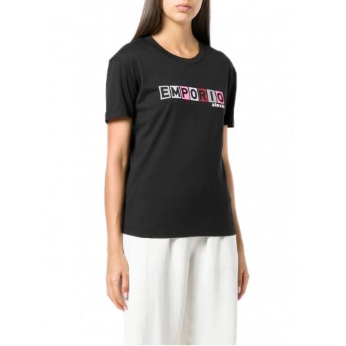 8410e4232984 -50% ΓΥΝΑΙΚΕΙΑ ΡΟΥΧΑ T-shirt Emporio Armani NERO   ΜΑΥΡΟ ΓΥΝΑΙΚΕΙΑ
