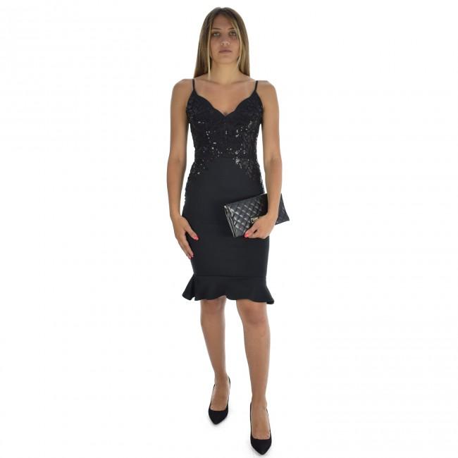 Φορέματα Lipsy BLACK / ΜΑΥΡΟ