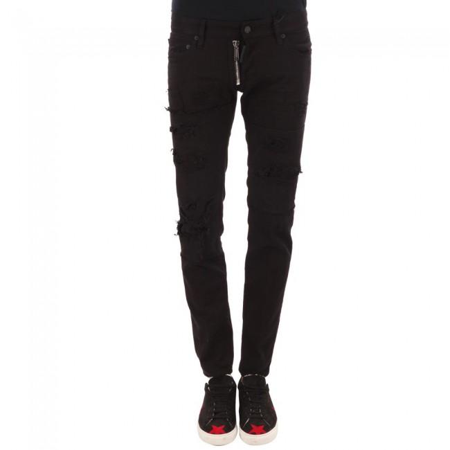 Ανδρικά  ΡΟΥΧΑ Jeans Dsquared2 BLACK / ΜΑΥΡΟ