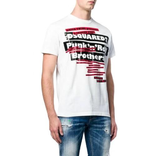 4be989be1687 -15% ΑΝΔΡΙΚΑ ΡΟΥΧΑ T-shirt Dsquared2 100 WHITE ΑΝΔΡΙΚΑ