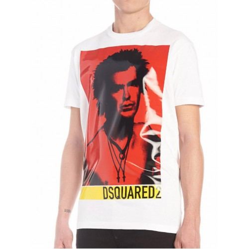 952a1d91ef71 ΑΝΔΡΙΚΑ ΡΟΥΧΑ T-shirt Dsquared2 100 ΑΣΠΡΟ ΑΝΔΡΙΚΑ