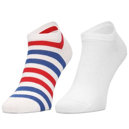 d6f2dc5c13b ΑΝΔΡΙΚΑ ΑΞΕΣΟΥΑΡ Κάλτσες Tommy Hilfiger WHITE /BLUE /RED