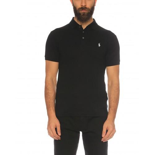 6e077641a6 ΑΝΔΡΙΚΑ ΡΟΥΧΑ Πόλο Μπλούζες Polo POLO BLACK