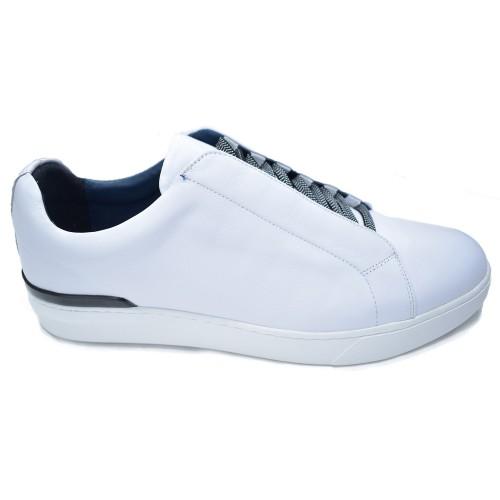 ΑΝΔΡΙΚΑ ΠΑΠΟΥΤΣΙΑ Sneakers     PRIVE WHITE 100% ΔΕΡΜΑ ΑΝΔΡΙΚΑ