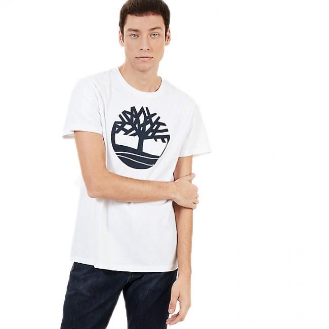 T-shirt Timberland White