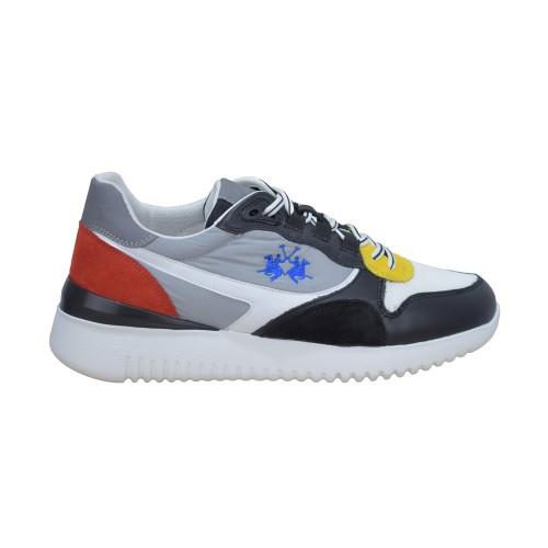 1c18455a79b ΑΝΔΡΙΚΑ ΠΑΠΟΥΤΣΙΑ Sneakers La Martina CALF NERO