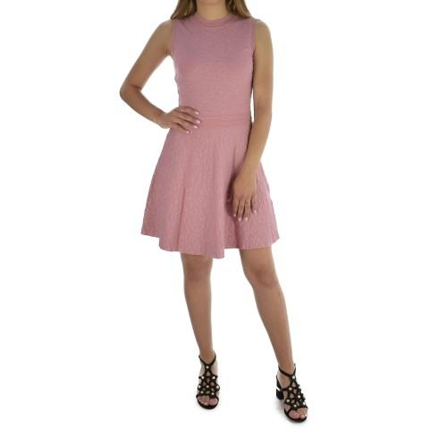 ΓΥΝΑΙΚΕΙΑ ΡΟΥΧΑ Φορέματα     NIKKIE 2401-FLOWER PINK  ΓΥΝΑΙΚΕΙΑ