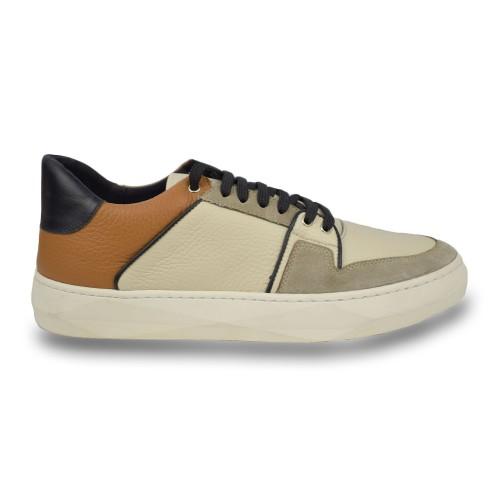 ΑΝΔΡΙΚΑ ΠΑΠΟΥΤΣΙΑ Sneakers     Makris MULTI 1 GREY / BROWN  ΑΝΔΡΙΚΑ