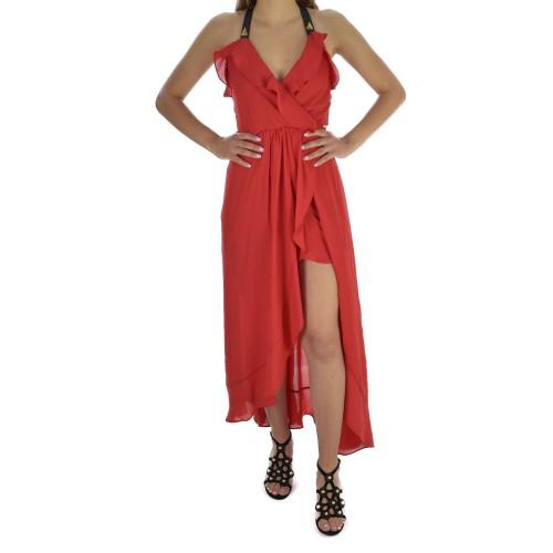 148d544c69 -10% ΓΥΝΑΙΚΕΙΑ ΡΟΥΧΑ Φορέματα HELLEN BARRETT Rosso ΓΥΝΑΙΚΕΙΑ
