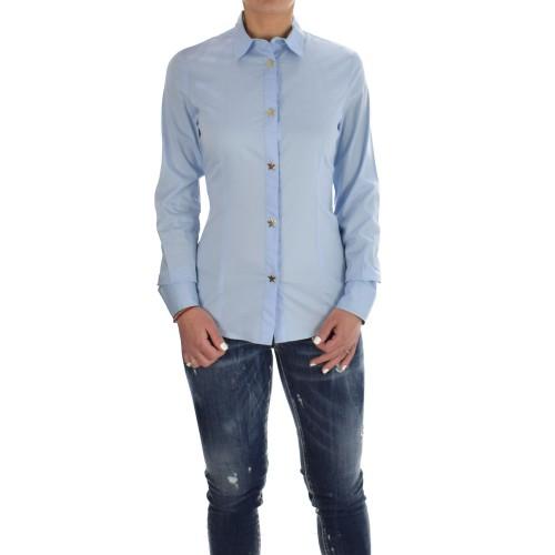 887d057ab1 -60% ΓΥΝΑΙΚΕΙΑ ΡΟΥΧΑ Πουκάμισα Love Moschino Light Blue ΓΥΝΑΙΚΕΙΑ