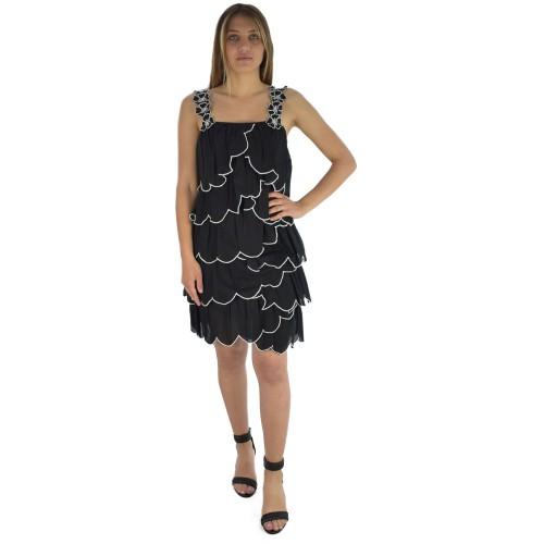 0d1ef5cbc8 ΓΥΝΑΙΚΕΙΑ ΡΟΥΧΑ Φορέματα Love Moschino BLACK