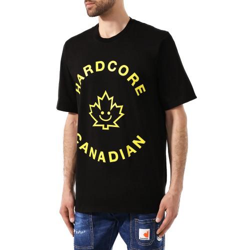 ΑΝΔΡΙΚΑ ΡΟΥΧΑ T-shirt     Dsquared2 900-Black