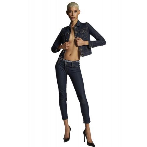 ΓΥΝΑΙΚΕΙΑ ΡΟΥΧΑ Jeans     Dsquared2 Blue 98% Cotton, 2% Elastane