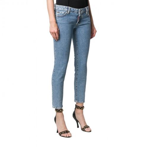 ΓΥΝΑΙΚΕΙΑ ΡΟΥΧΑ Jeans     Dsquared2 470-Blue
