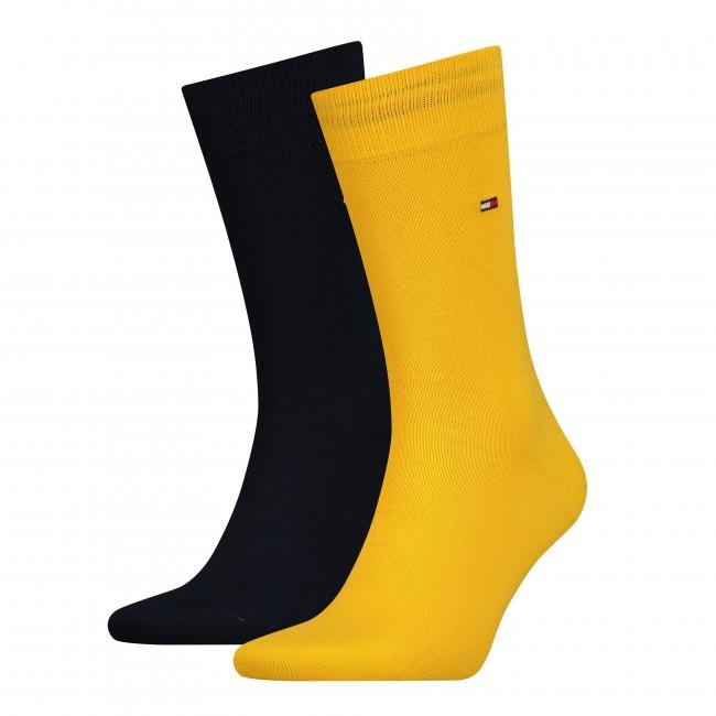 Ανδρικά  ΑΞΕΣΟΥΑΡ Κάλτσες Tommy Hilfiger Blue Yellow