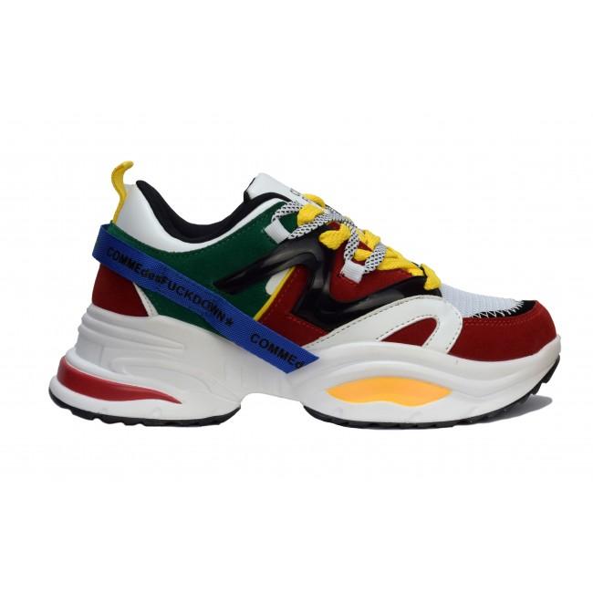 Ανδρικά  ΠΑΠΟΥΤΣΙΑ Sneakers Comme des fuckdown Multicolour