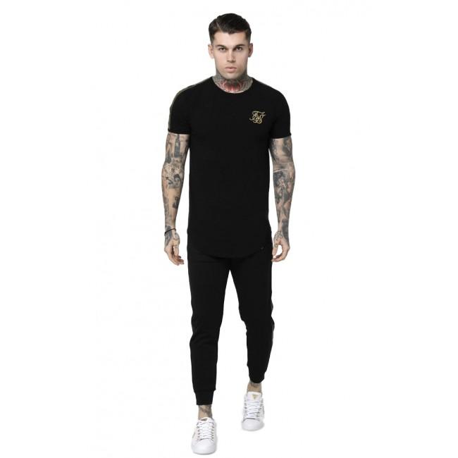 Ανδρικά  ΡΟΥΧΑ T-shirt SIKSILK Black