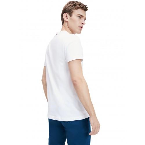 ΑΝΔΡΙΚΑ ΡΟΥΧΑ T-shirt     Tommy Hilfiger White ΝΕΕΣ ΠΑΡΑΛΑΒΕΣ MW0MW12516-YBR